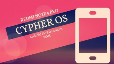 Photo of Xiaomi Redmi Note 5 Pro Cypher OS 7.0.0 Android Pie ROM