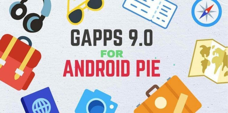 android pie gapps download