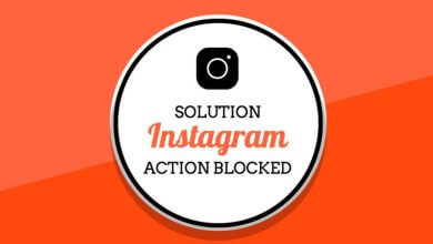Photo of Solution To Fix Actions Blocked On Instagram