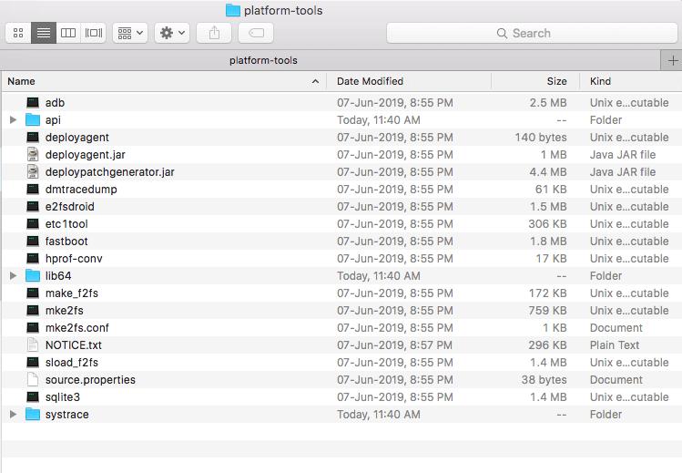 Minimal ADB and Fastboot Mac OS