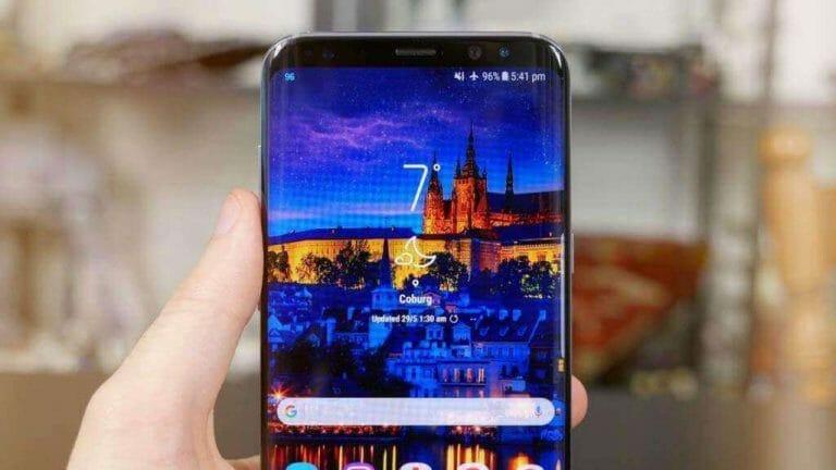 Samsung Galaxy S9 Plus Facebook Error