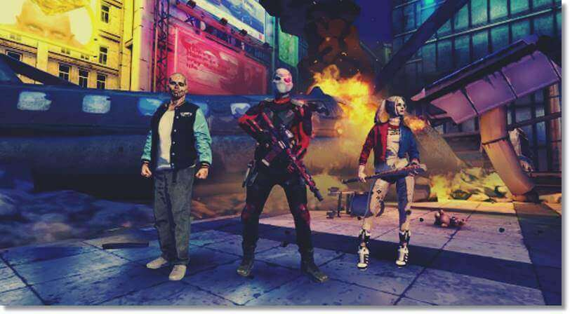 DC Suicide Squad Mobile Game