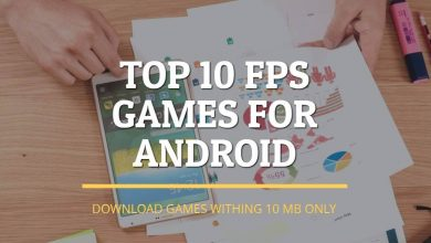 Photo of Top 10 FPS Games Within 100 MB For Android