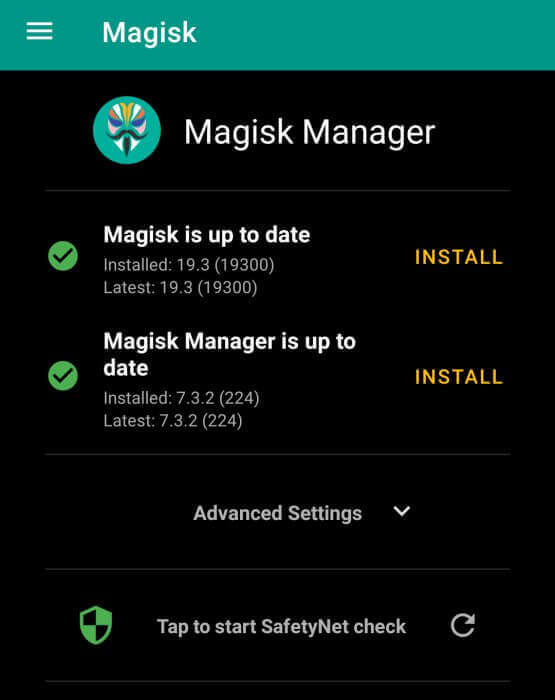 Magisk Manager Mi 8 Lite