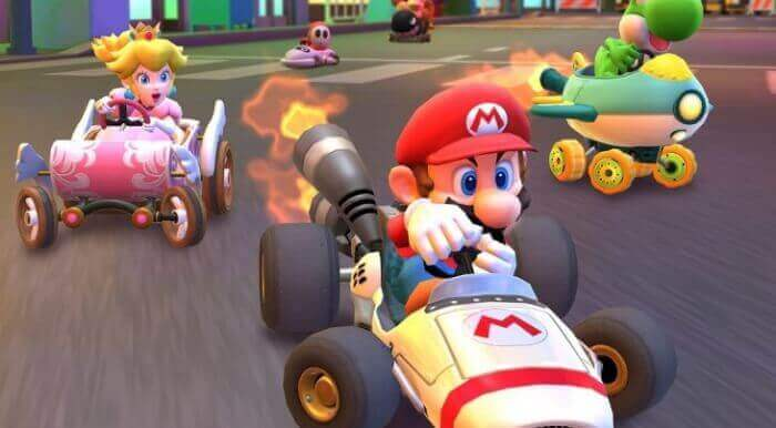 frenzy mode in mario kart tour