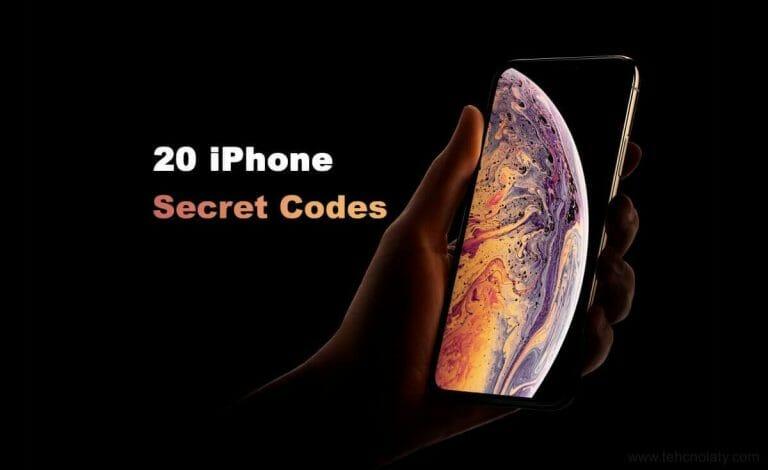 iPhone secret codes in 2019