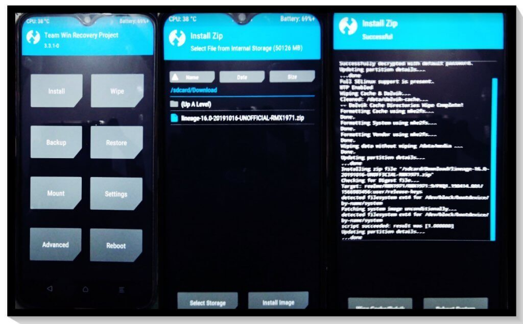 TWRP for Realme 5 Pro