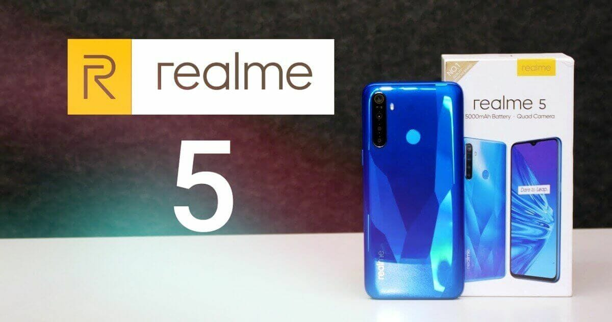 Realme 5 Root Method