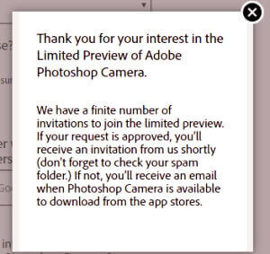 adobe photoshop camera apk
