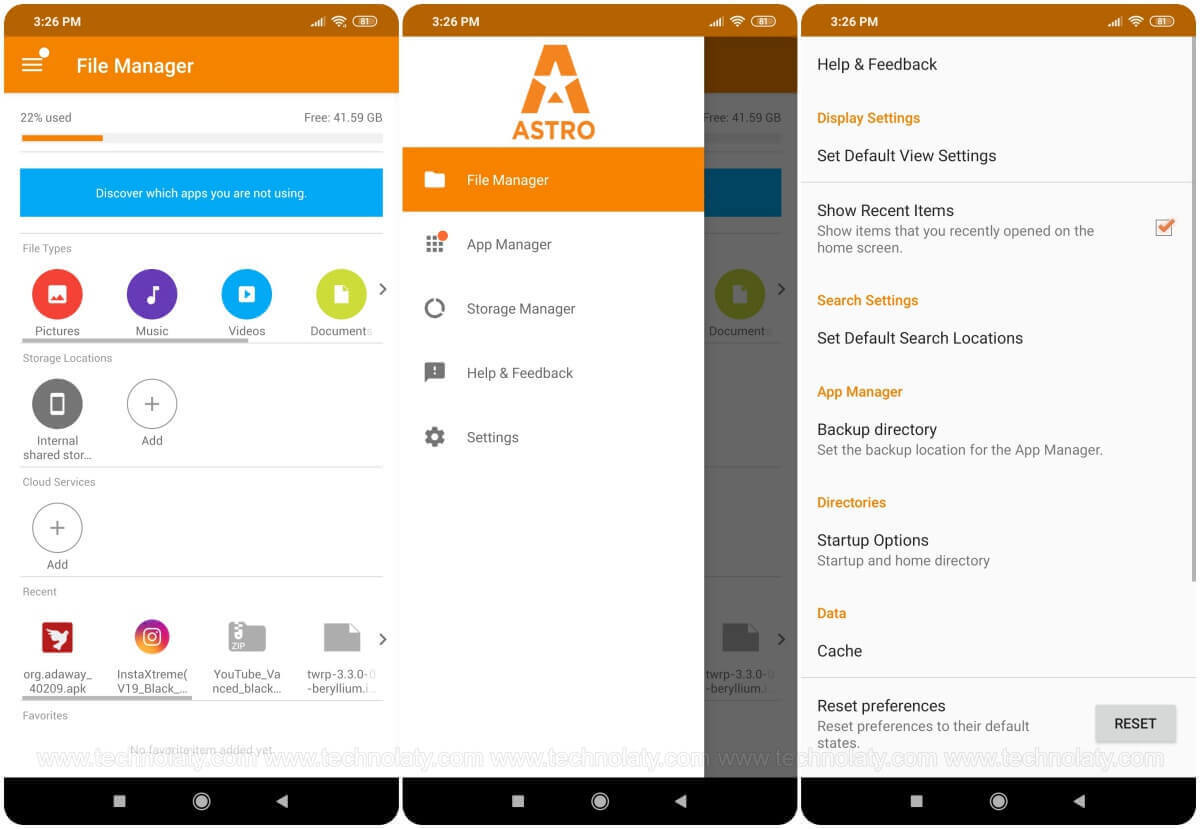 Android File Manager App