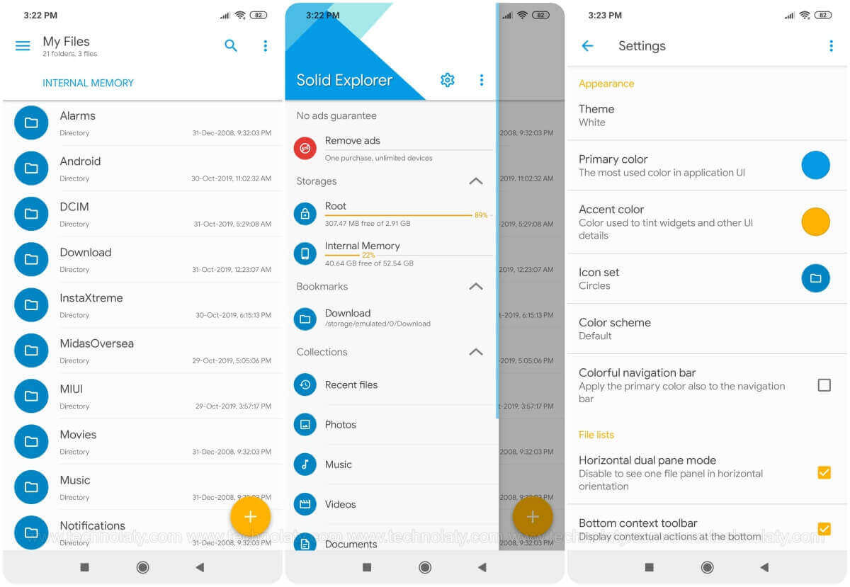 Android File Explorer App