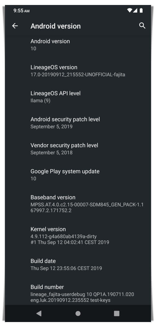 LineageOS 17 For OnePlus 6T