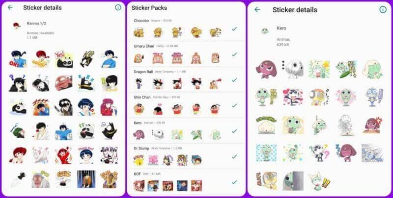 whatsapp stickers pack