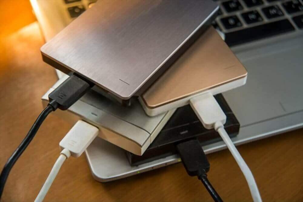 external hard drive file transfer