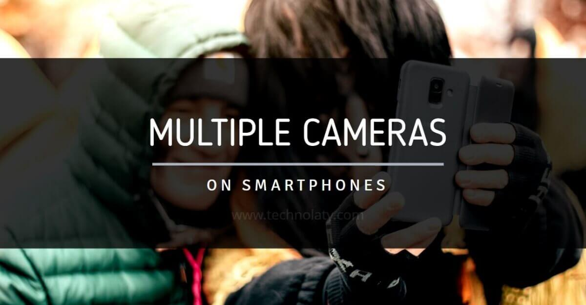 multiple cameras on smartphone