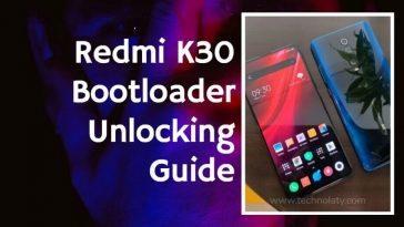 Unlock Redmi K30 Bootloader