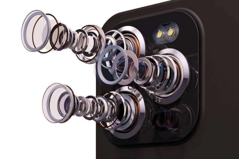 triple camera mobile phone