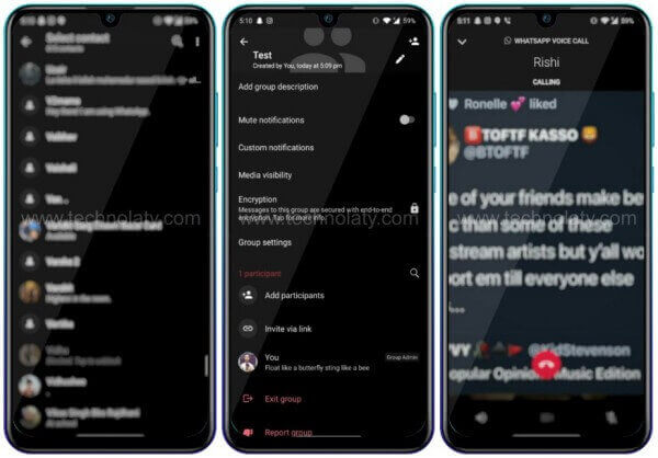 Dark Mode for WhatsApp