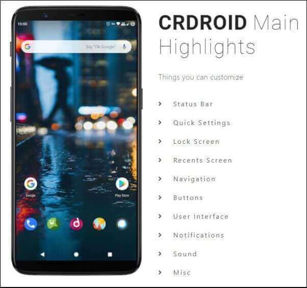 CrDroid for Redmi K20 Pro