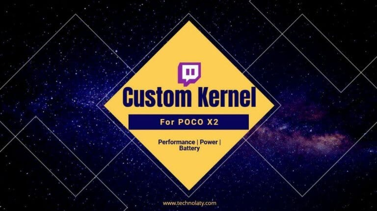 Custom Kernel For Poco X2