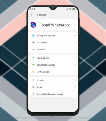 Fouad WhatsApp Privacy Options