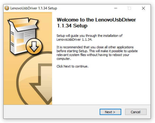Lenovo USB Driver