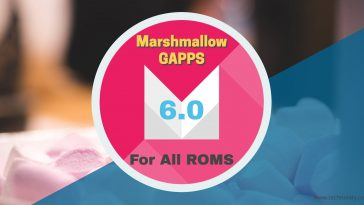 marshmallow gapps 6.0