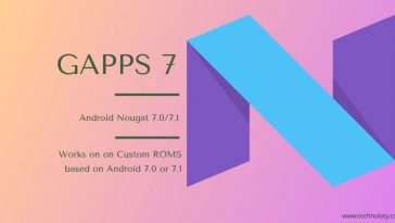 Nougat Gapps 7 Package