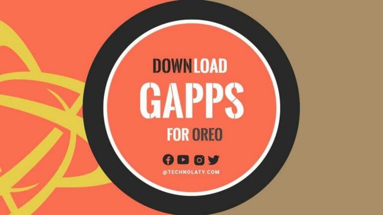 Oreo Gapps 8