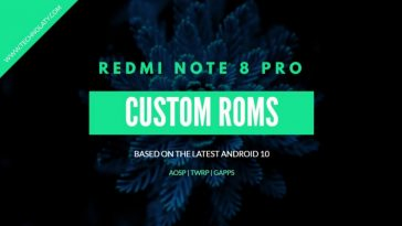 Custom ROM for Redmi note 8 pro
