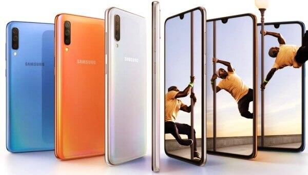 Install TWRP on Samsung galaxy A70