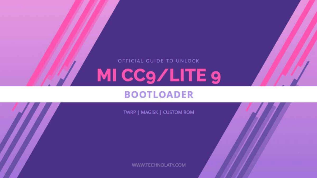 Unlock Bootloader of MI CC9