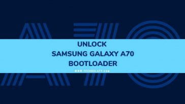 Samsung Galaxy A70 Bootloader Unlocking Guide