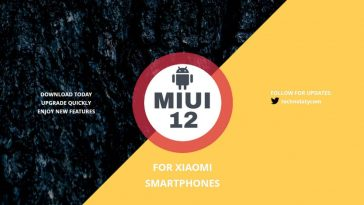 miui 12 for xiaomi mobiles