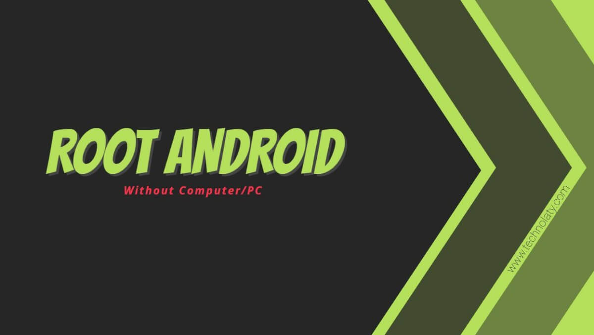 root an android device without a pc