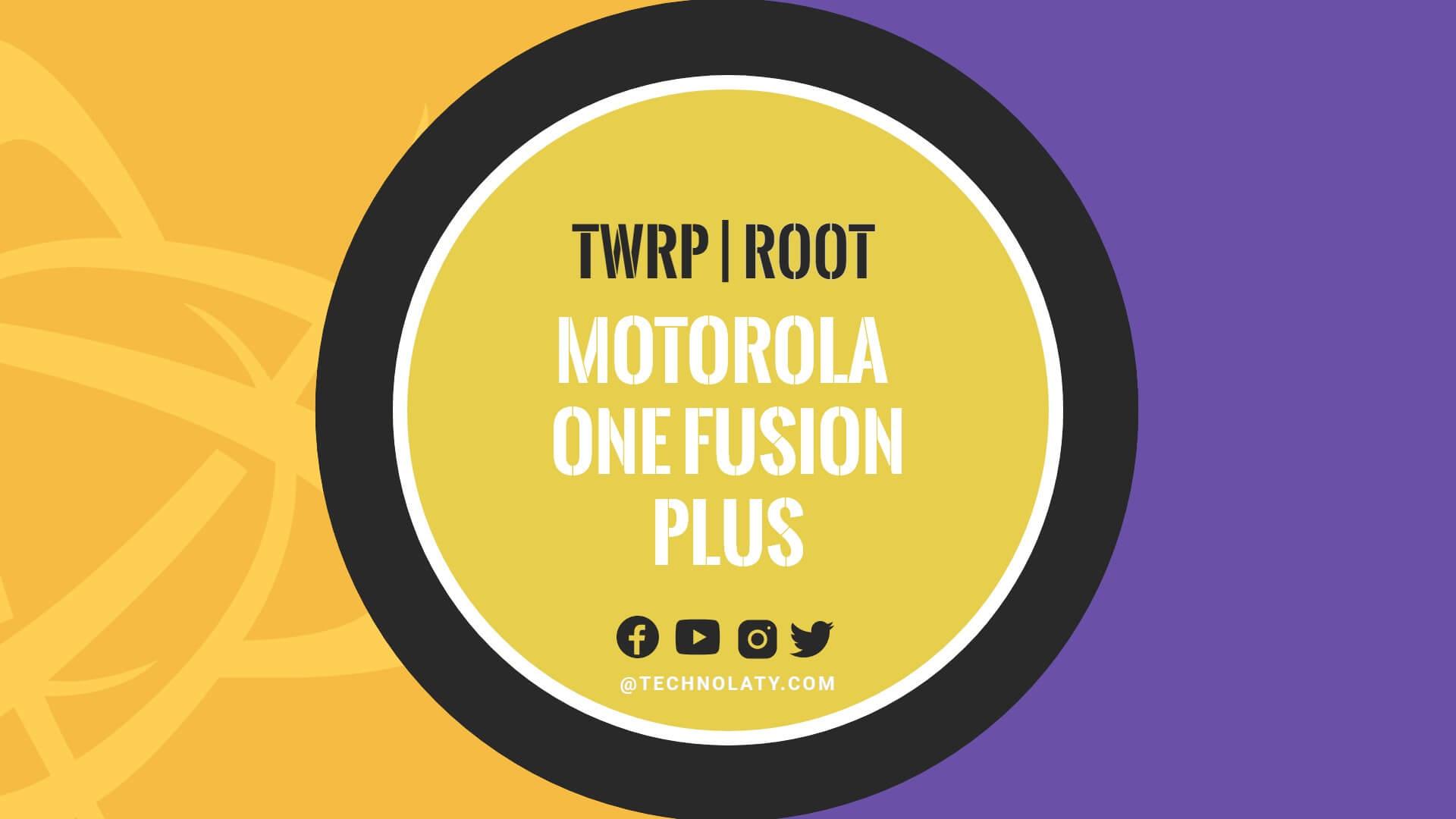 TWRP for Motorola One Fusion Plus