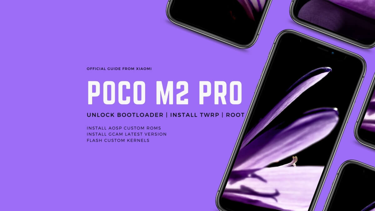 Unlock Poco M2 Pro Bootloader