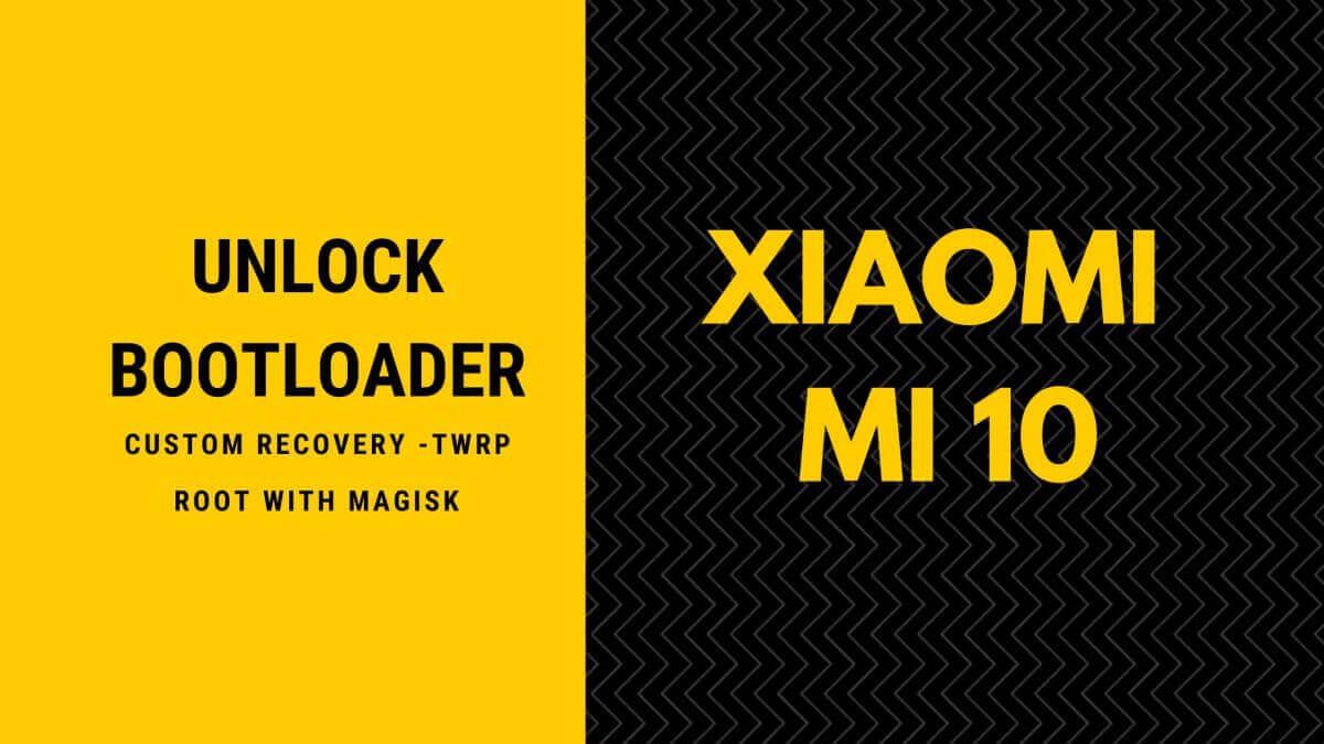 Xiaomi Mi 10 Unlock Bootloader
