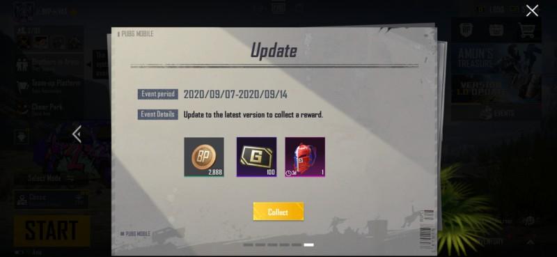 Pubg Mobile 1.0 Rewards