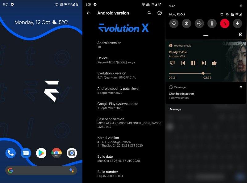 Evolution X For Poco X3 NFC