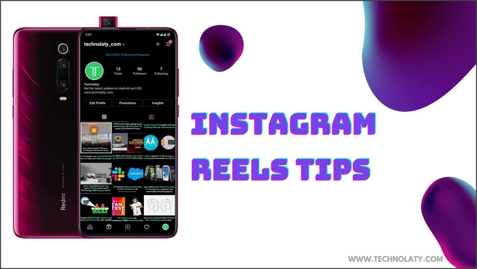 Tips For Instagram Reels