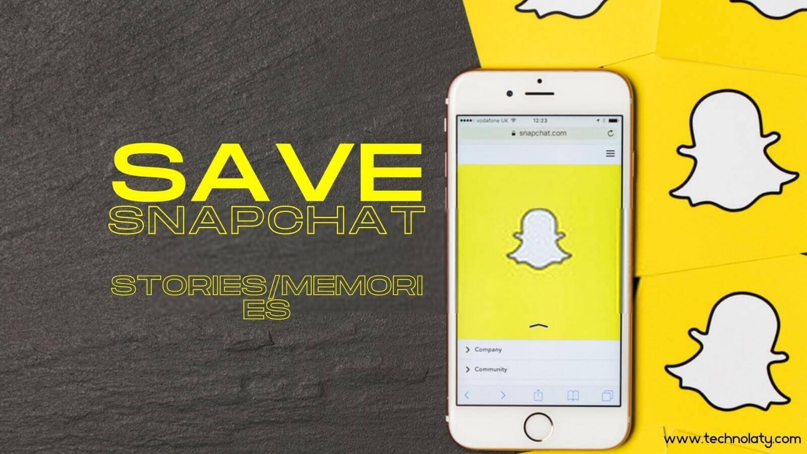 Method to save snapchat videos in ios
