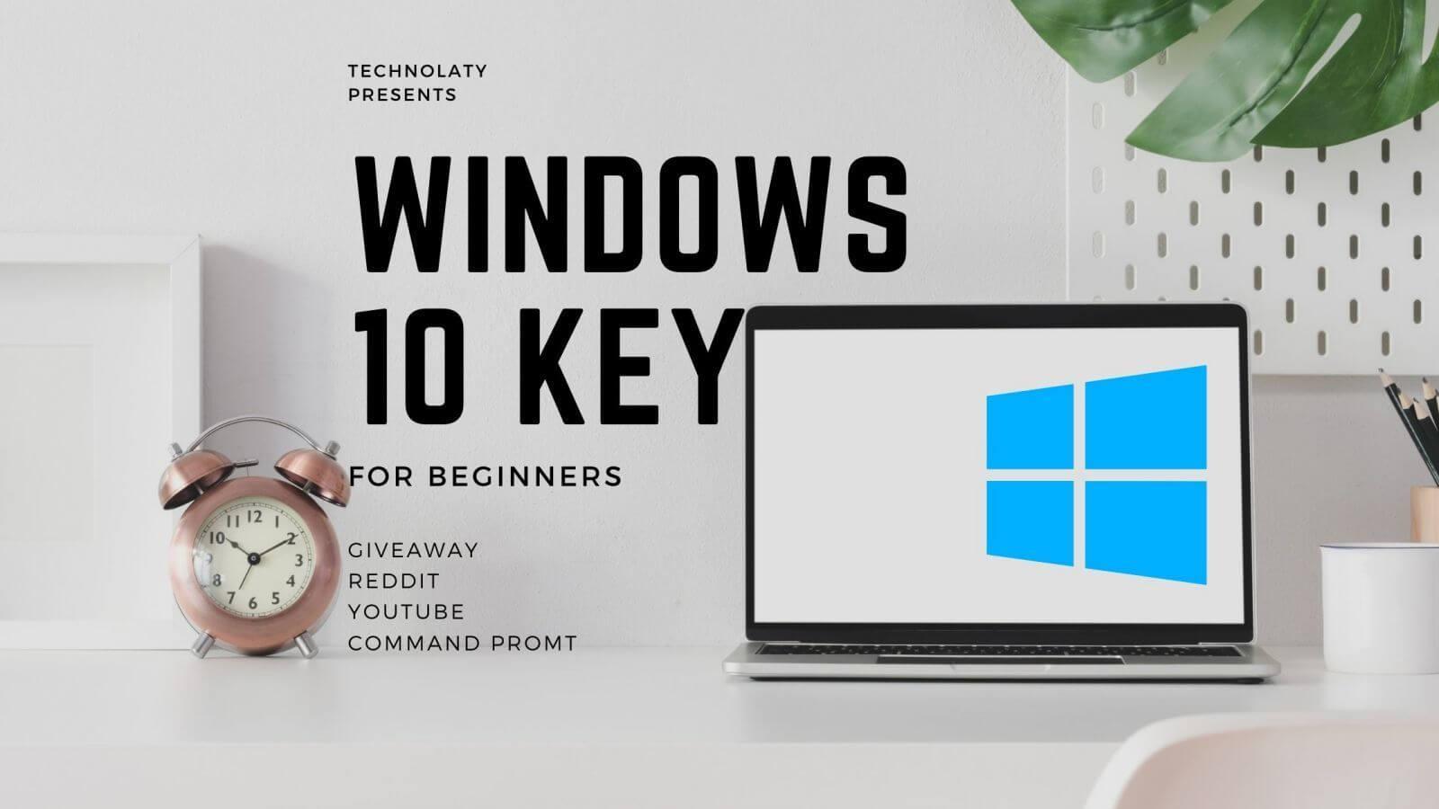 Download Windows 10 Pro Keys