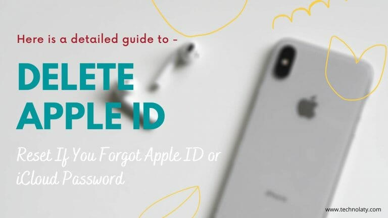 Remove Apple ID