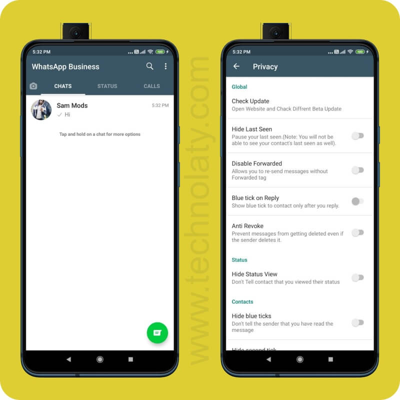 SAM WhatsApp Business MOD