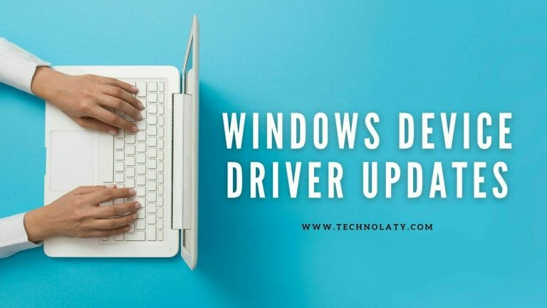 windows device drivers updates