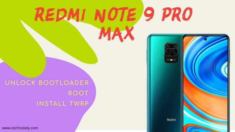 Unlock Redmi Note 9 Pro Max Bootloader
