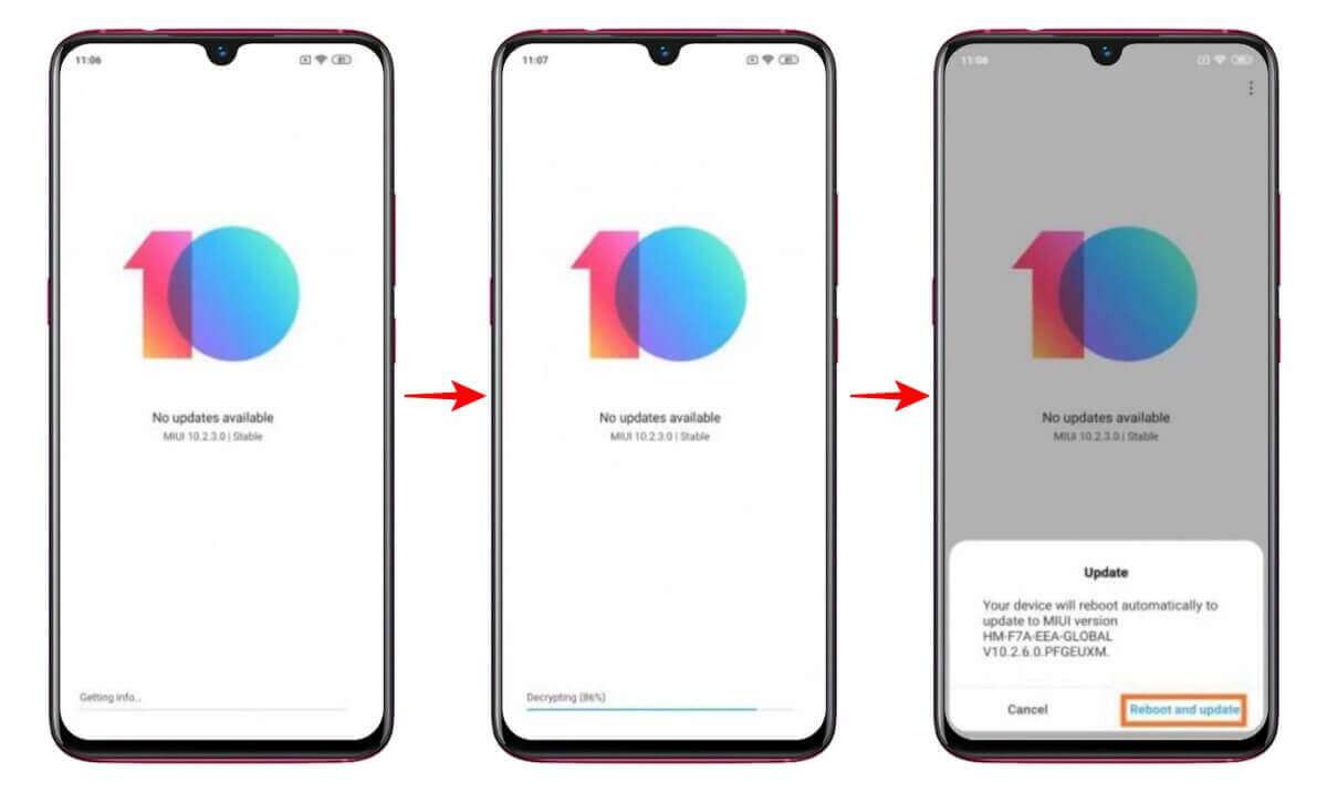 MIUI 12 Android 11 ROM For Redmi Note 8/Pro