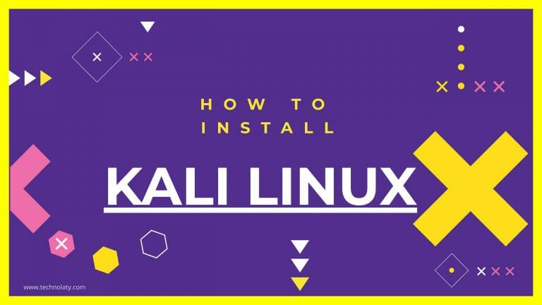 Install Kali Linux ISO