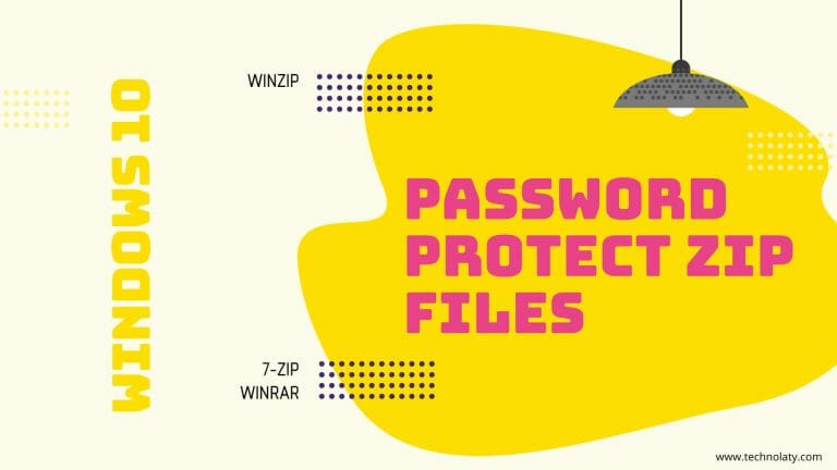 Create Password Protected Files In Windows 10